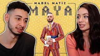 Mabel Matiz Mendilimde Kırmızım Var feat Sibel Gürsoy TURKISH SONG REACTION