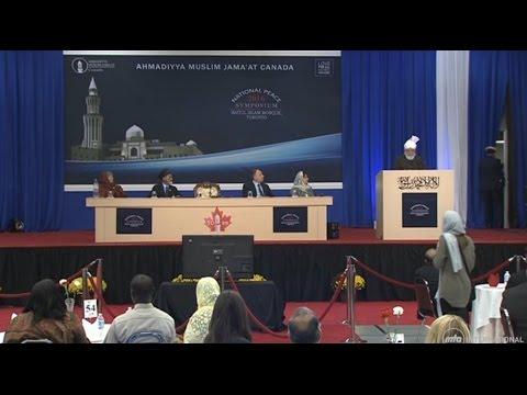 Peace Symposium Canada 2016: Keynote by Khalifatul Masih V - Islam Ahmadiyya