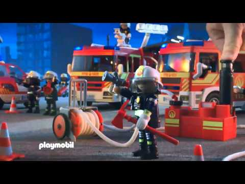 Playmobil Πυροσβεστικό όχημα με φάρο και σειρήνα