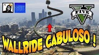 WALLRIDE CABULOSO COM MAYCONCOD INSPIRADO ! GTA V CORRIDA MONSTRA FUNNY MOMENTS - LINK NA DESCRIÇÃO