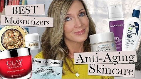 AntiAging Skincare ~ Best Moisturizers ~ Ingredient Series #6