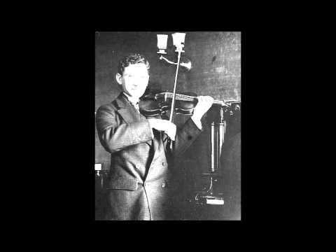 Brahms Violin Sonata No. 3 (Efrem Zimbalist, 1930)