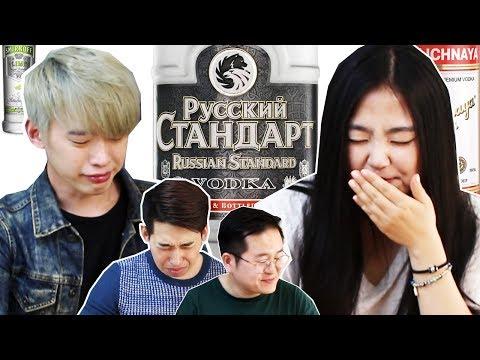 Корейцы попробовали русскую