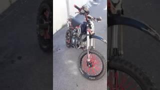 Dirt 140cc apollo moteur YX grande roue