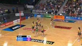anz netball 2010 magic vs fever qtr 3 part 1