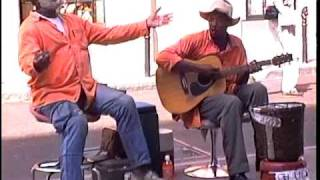 """Just Your Fool""  Grandpa Elliot (1994) and Stoney B.  in New Orleans , Street Musicians"