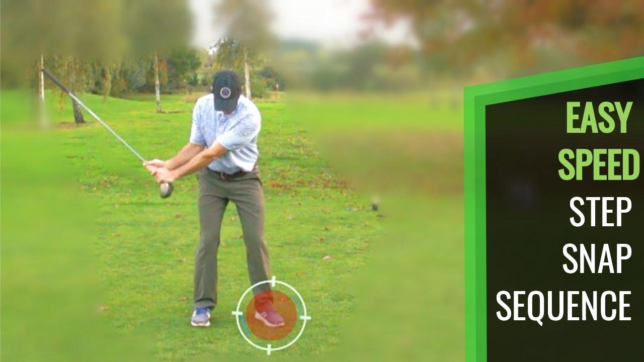 50617babf93b GOLF SWING DRILL  STEP SPEED SNAP SEQUENCE – Golf Video Tutorials