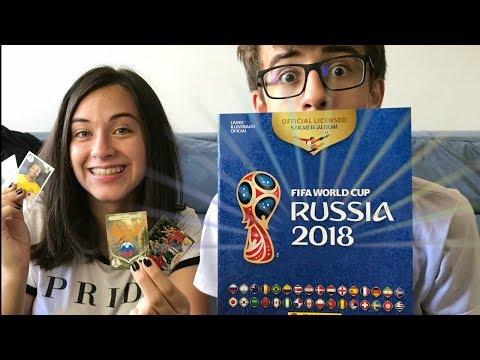 ÁLBUM DE FIGURINHA DA COPA DO MUNDO 2018 - RÚSSIA - RICK SANTINA