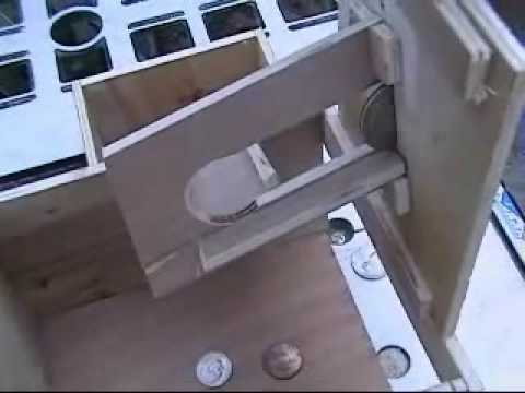 Coin slot mechanism penny stock gamble