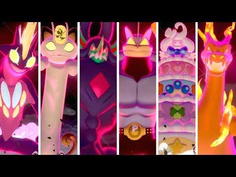 How To Get All Gigantamax Pokémon In Pokémon Sword & Shield