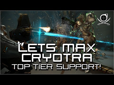 (Warframe) Lets Max - Cryotra - Top Tier Companion Support! (24.2.9) thumbnail