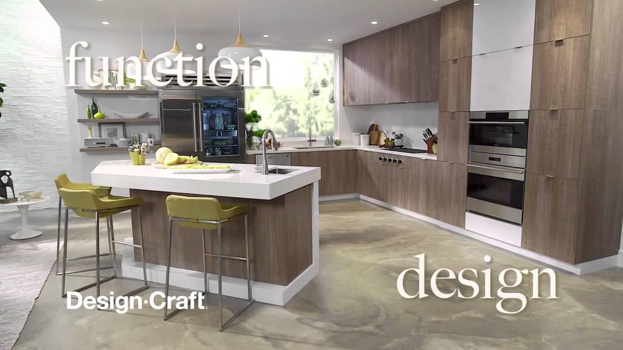 Design-Craft Pike\'s Peak Gibson Cabinets at Kitchen and Bath World