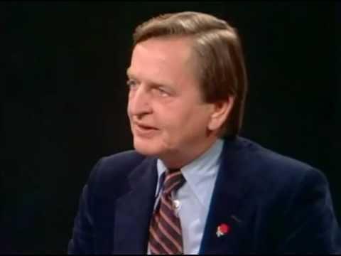 Valet 1982 - Olof Palme (S) frågas ut i SVT
