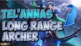 LONG RANGE HERO?!?!? TEL'ANNAS GAMEPLAY | STRIKE OF KINGS: TEST SERVER |