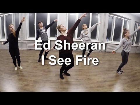 Ed Sheeran  I See Fire  Eliza Kaija Kazemaka Choreography  Beginner class