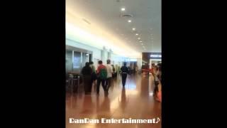 2014.5.30(金)パク・ジョンミン羽田空港に到着.