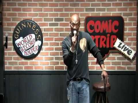 Charlie Murphy Stand up Comedian at the Comic Strip Live 03:17:2010