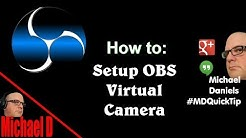 OBS VirtualCam plugin