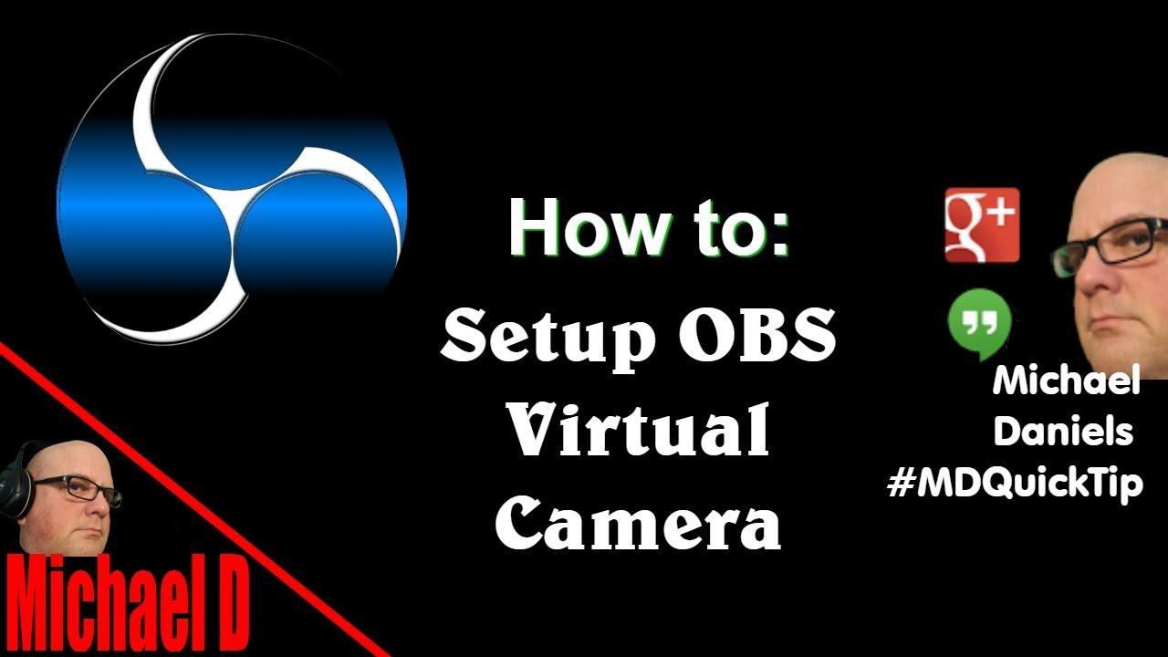 OBS VirtualCam plugin