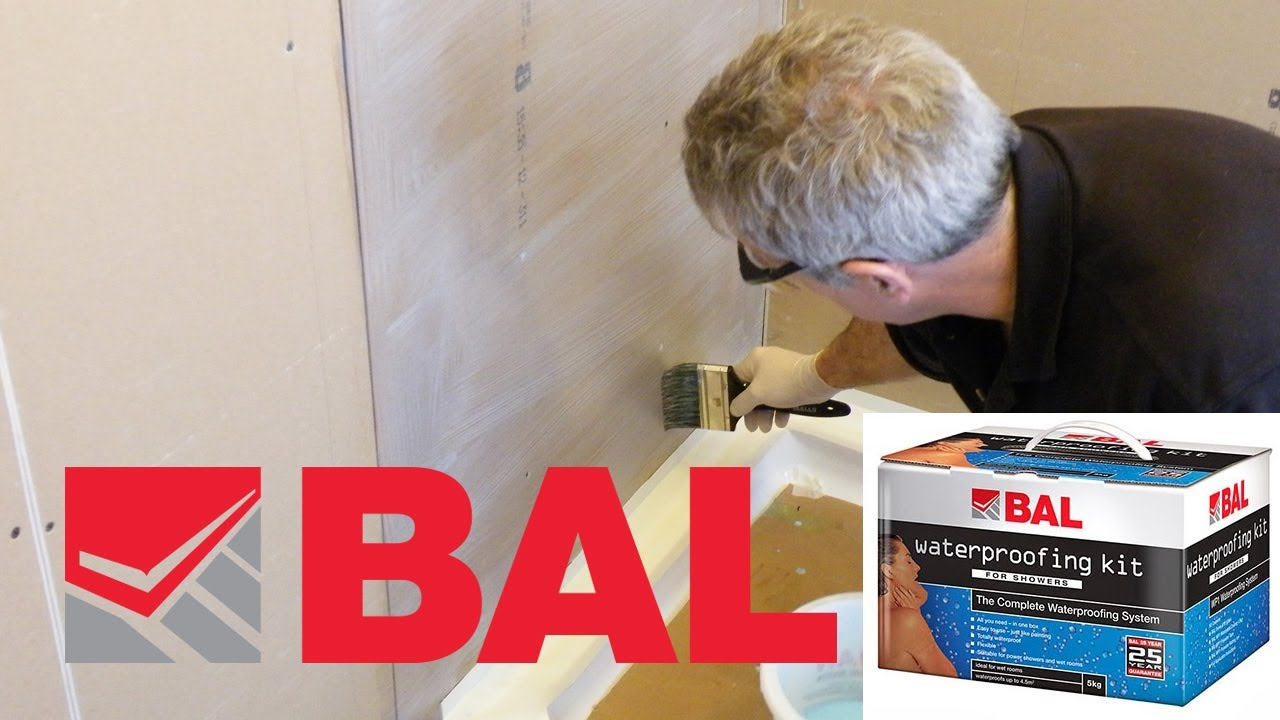 How To Waterproof Your Shower Walls The Proper Way With BAL Tanking