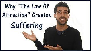 لماذا قانون الجذب يخلق المعاناة