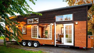 Absolutely Gorgeous 34ft Tiny House For Sale By Mint Tiny Homes | Tiny House Big Living