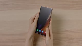 video: Samsung unveils Note 20 smartphones and Galaxy Z Fold 2