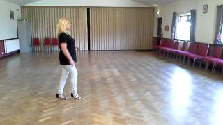 Your place or mine linedance walk through