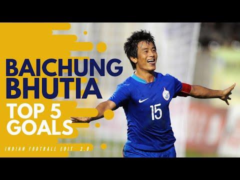 Baichung Bhutia - Top 5 Goals for India