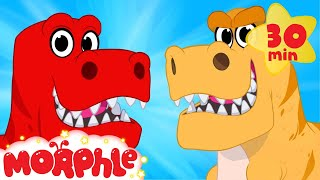 My Pet Dinosaur Morphle Goes Back In Time - My Magic Pet Morphle animations for kids with dinosaurs thumbnail