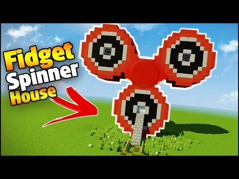 Minecraft How To Build Fidget Spinner House