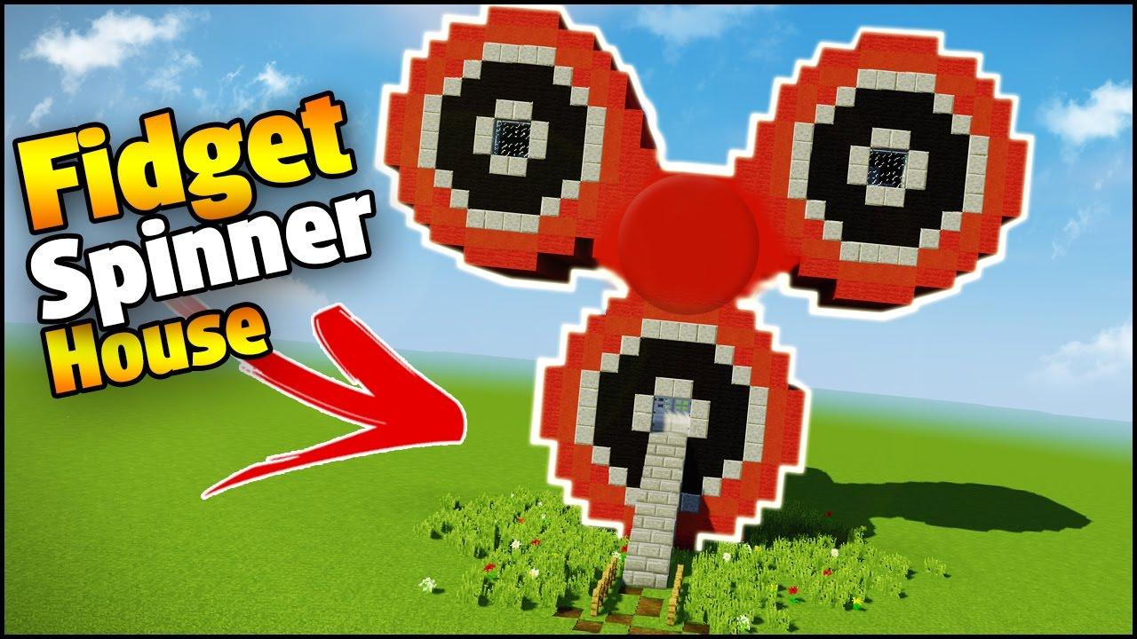 Minecraft - FIDGET SPINNER HOUSE VS FIDGET ... - YouTube