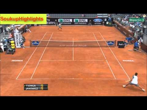 TSONGA THE TALENT FROM FRANCE HD