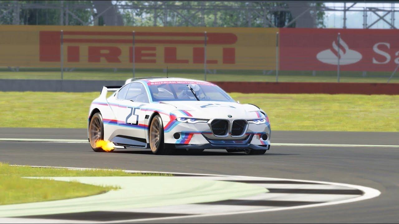 2015 BMW 3.0 CSL Hommage R Top Gear Silverstone