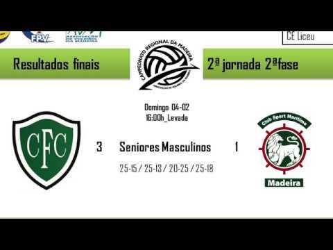 CF Carvalheiro Vs CS Marítimo (Sen-Masc) 04-02-2018