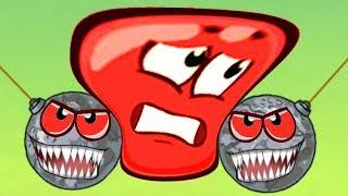 НОВЫЙ Красный ШАРИК 3 Очень сложный! прохождение #3 / Ред Бол мультяшная игра Видео для детей
