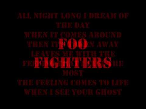 Foo Fighters - All My Life( lyrics)