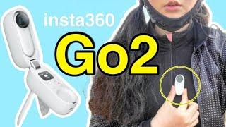 세상에서 가장 작은 액션캠 Insta360 GO 2 l…