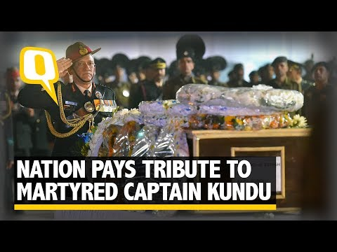 Defence Minister, Army Chief Pay Homage To Captain Kundu | The Quint
