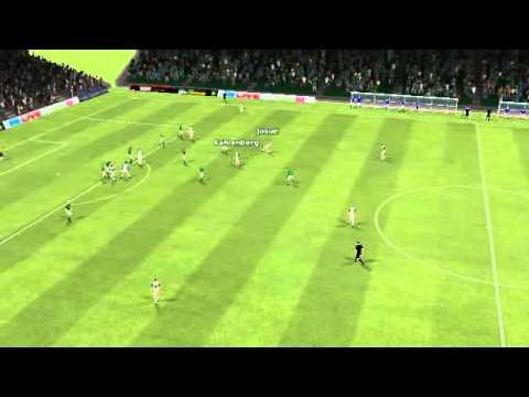 FM11 Werder Bremen 0 - 1 Wolfsburg - Goal by Josué 93. minute