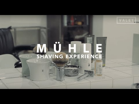 Tips For How To Shave With MUHLE Double Edge Razor By BARBER HIGUCHI Grooming & Spa, KYOTO JAPAN