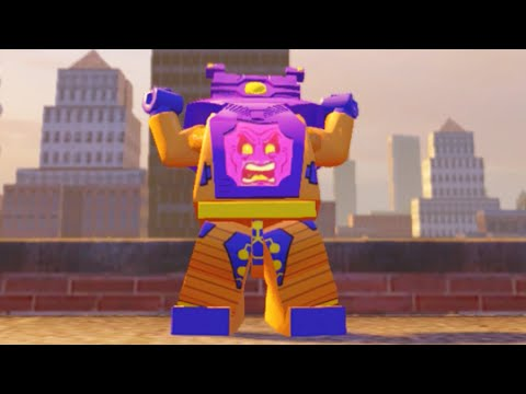 Lego Marvels Avengers How to Unlock Arnim Zola (Classic) in Washington D.C.