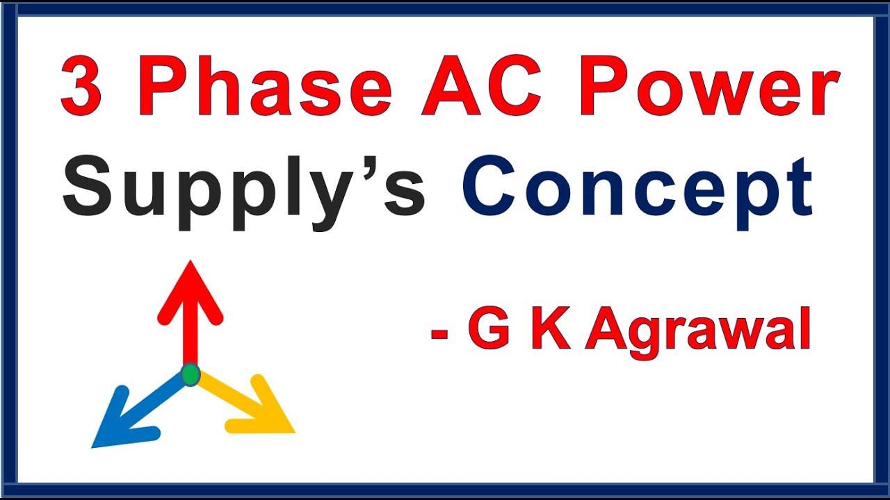 3 Phase AC Power Supply & 1 Phase AC supply - YouTube