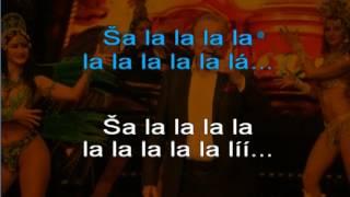 Lady Karneval Karel Gott karaoke c beranek robinson