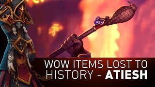 Atiesh, Greatstaff of the Guardian - Wow Items Lost to History