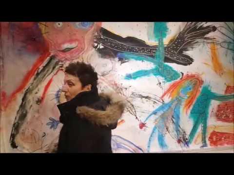"""Travail pédagogique dans le cadre de l'exposition """"Imaginarium Metaphoricum"""" de Caroline Crozat"""