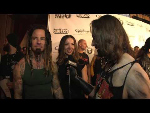 ONCE HUMAN Interview, Revolver Music Awards 2016 Black Carpet | MetalSucks