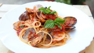 Nonna's Spaghetti With Clams Recipe - Laura Vitale - Laura In The Kitchen Episode 631