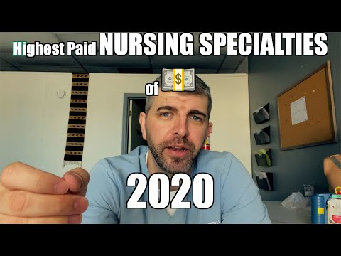 Most In Demand NURSING SPECIALTIES
