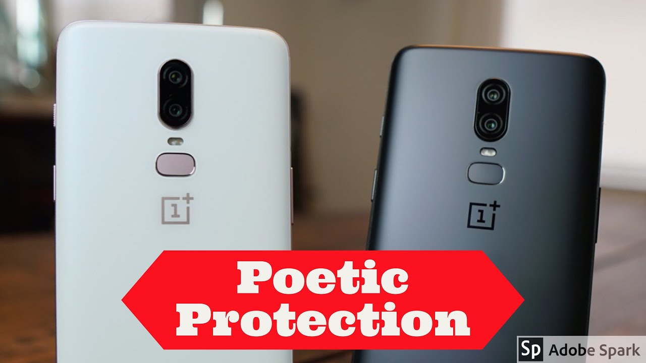 finest selection 4a544 3a75d OnePlus 6 - Poetic Guardian Case - Heavy Duty Case